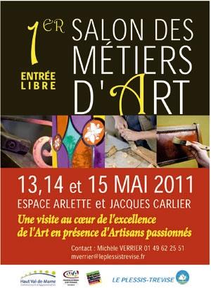 1er Salon des Métiers d'Art du Plessis-Trévise
