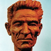 Sculpture en argile
