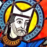 宗教系列彩色玻璃(复制自十二至十四世纪作品)